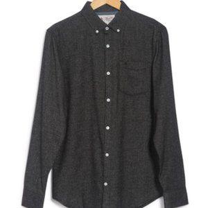Original Penguin flannel button up BNWT gray